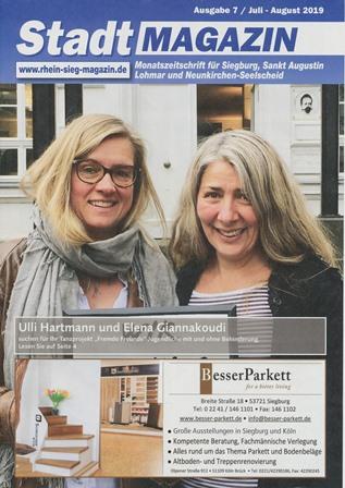 Stadmagazin Siegburg Titelseite