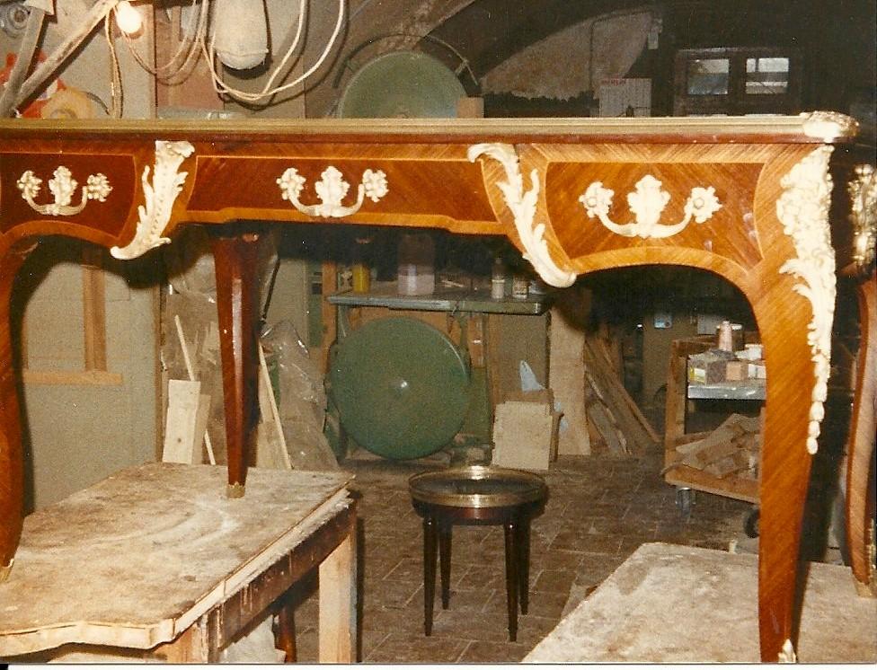 Restauration, Bureau de style Louis XV, XIX éme siècle
