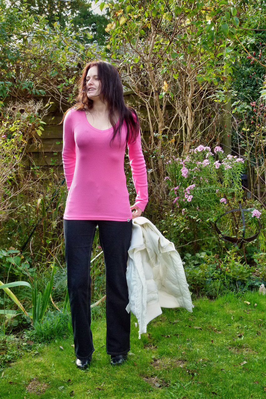 Longshirt in pink