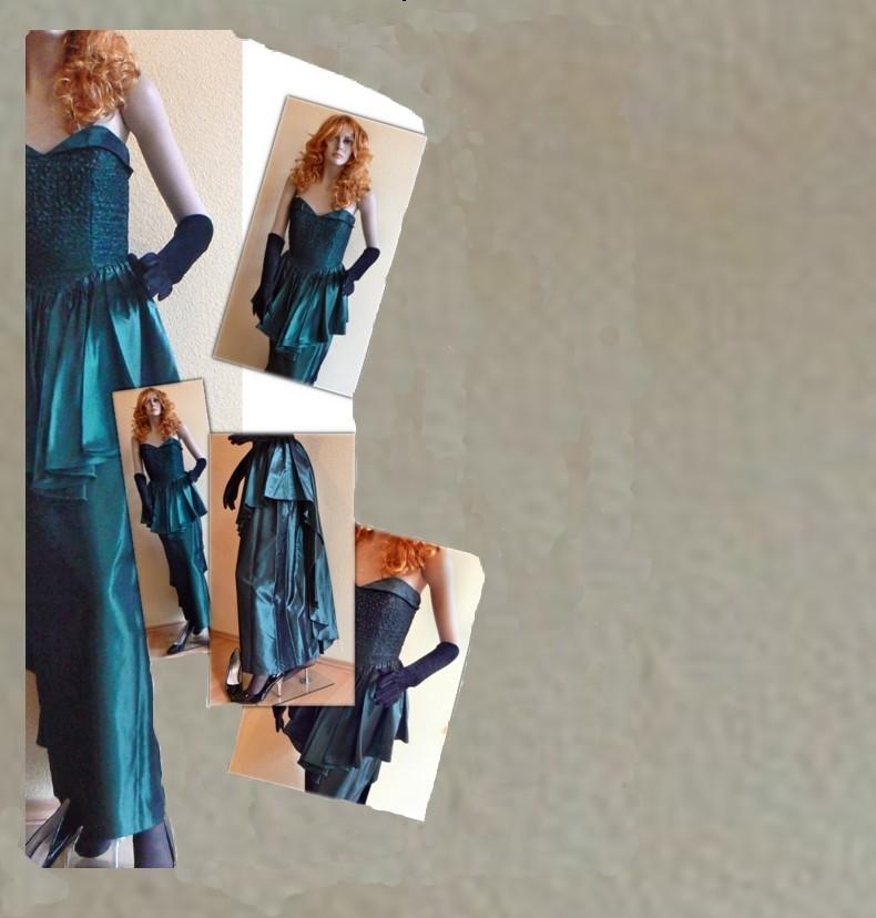 Elegantes Abendkleid mit aufwendigen Details - secondhand,Gr. 38 - nur 25 € inkl. Versandkosten