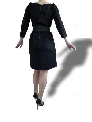 """Angenehmes Material: Polyester-Viskose-Elasthan-Mischung, Gürtel mit Steckschließe aus Metall - Kleid """"Anca"""" von VILA -UVP: 39,95 € - bei uns nur 25 € inkl. Versandkosten!"""