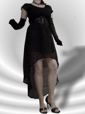 2in1 Kleid von VERO MODA - auch separat tragbar - Gummizug in der Taille: Wir empfehlen einen Stretchgürtel! UVP: 24,90 € - bei uns nur17 € + Versandkosten nur 3,90 € - einmalig pro Bestellung!
