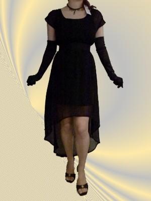 Schwarzes Kleid von VERO MODA, transparenter Stoff mit blickdichten Unterkleid - UVP: 24,90 € - bei uns nur 17 €  + Versandkosten nur 3,90 € - einmalig pro Bestellung!