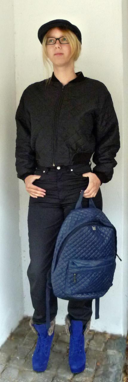 und der Rucksack, praktisch und mit viel Platz