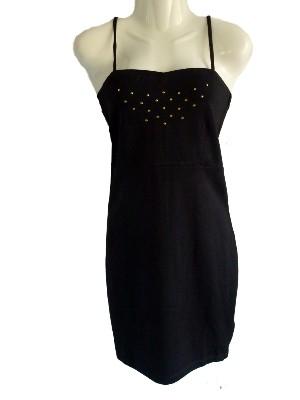 Schwarzes Partykleid mit Nieten von even&odd  - ehemaliger Shop-Preis 24, 95 € - bei uns nur 16 € + Versandkosten nur 3,90 € - einmalig pro Bestellung!