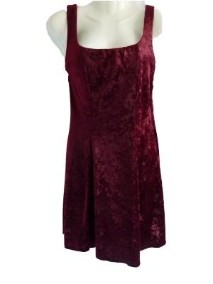 Kleid aus stretchigem, angenehm weichem Pannesamt, 2ndhand, Gr.S, 8 € + Versandkosten nur 3,90 € - einmalig pro Bestellung!