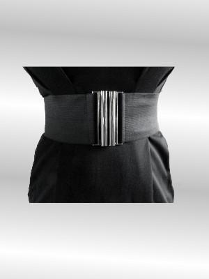 """Breiter Gürtel mit Steckschließe aus Metall - Kleid """"Anca"""" von VILA -UVP: 39,95 € - bei uns nur 25 € inkl. Versandkosten!"""
