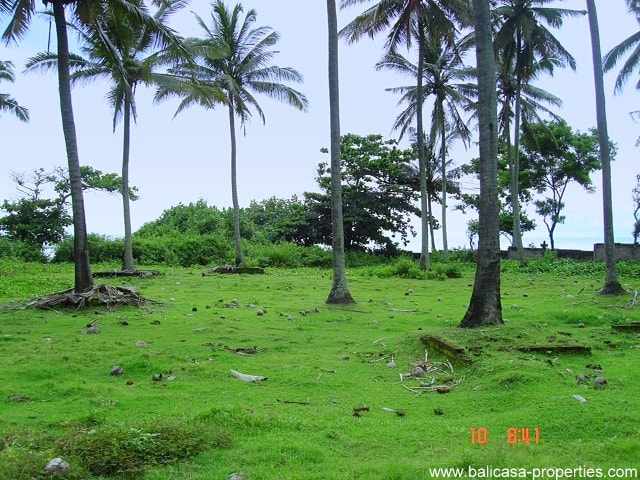 Pekutatan beachfront land
