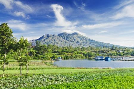 Mount Batur, Bangli regency in Bali