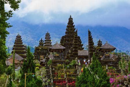 Pura Besakih. Karangasem regency in Bali.