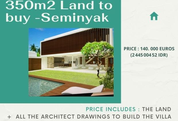 Seminyak land for sale