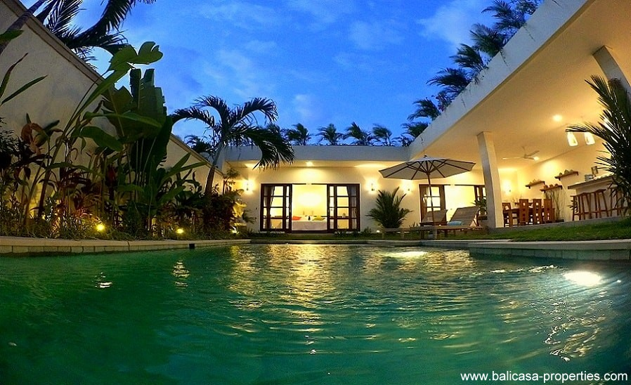 Kerobokan villa for sale, 2 and 3 bedroom