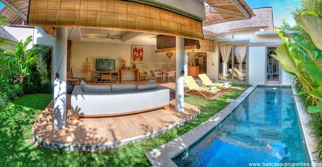 Umalas 1 bedroom villa for sale with high ROI.