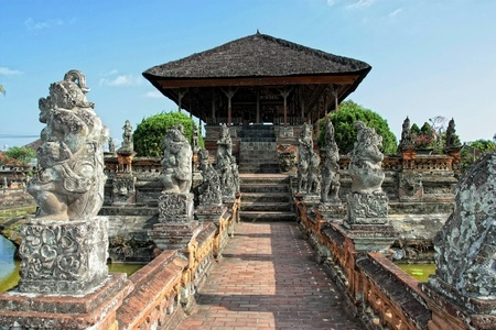 Kertha Gosa. Klungkung regency in Bali.