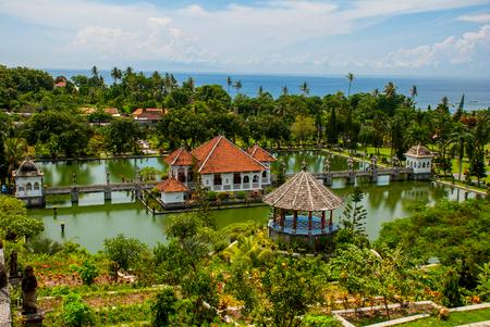 Taman Ujung, Karangasem regency in Bali.