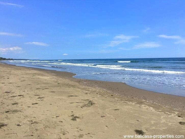 Beachfront land for sale