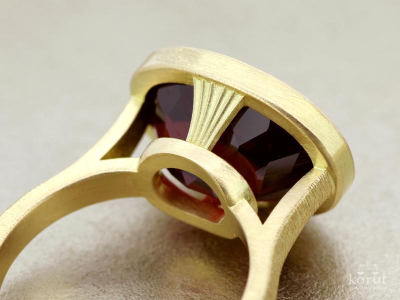 リフォーム後の指輪