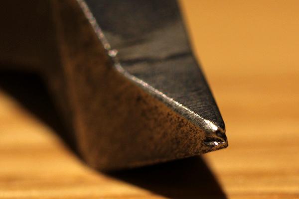 ジュエリー制作の工具紹介、曲がり刻印3