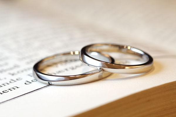 フルオーダーマリッジリング(結婚指輪)完成写真1