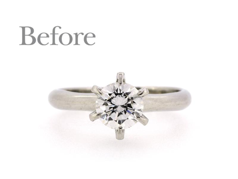 リフォーム前のエンゲージリング(婚約指輪)