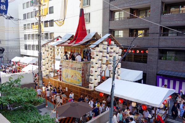 2015年祇園祭宵々山・菊水鉾2