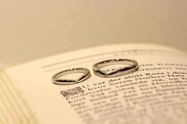 フルオーダーマリッジリング(結婚指輪)完成写真2