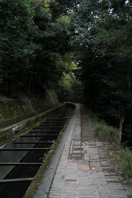 2013年11月の京都蹴上・インクラインから南禅寺への道