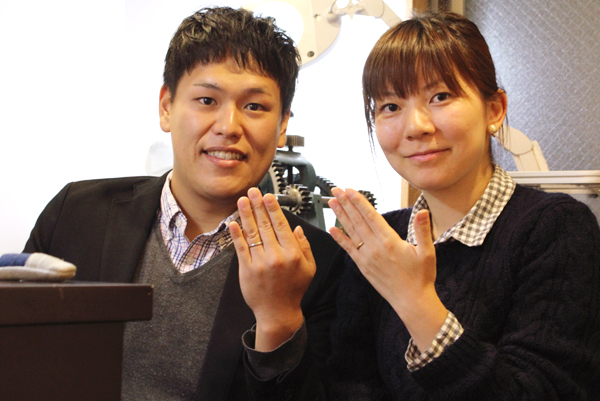 マリッジリング(結婚指輪)の制作体験