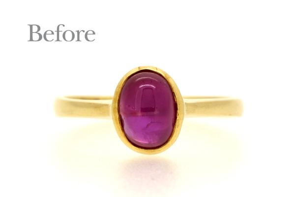 リフォーム前のリング(指輪)