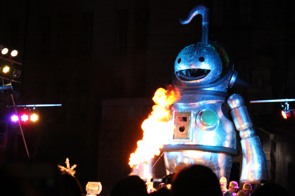 京都国際映画祭・火を噴くジャイアント・オタマトーン