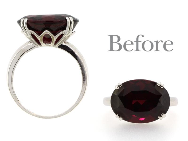 リフォーム前の指輪