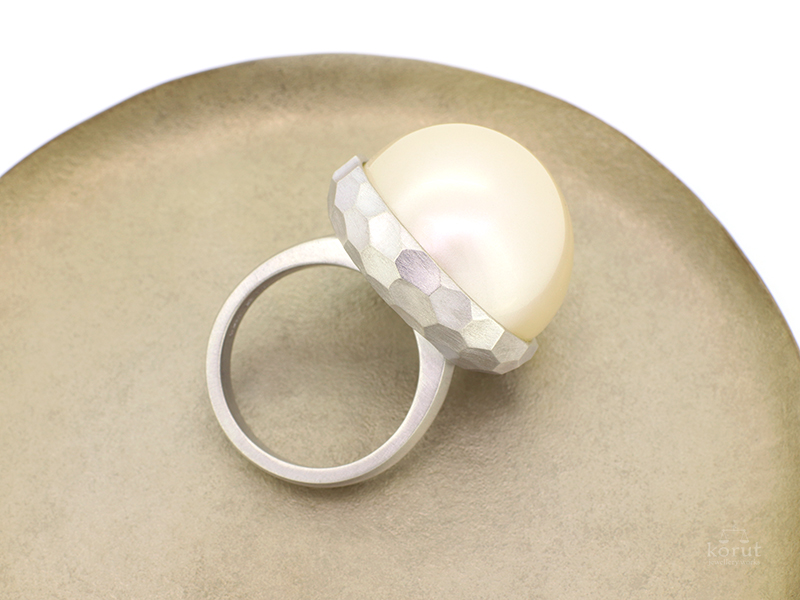 リフォーム後のシルバーの指輪