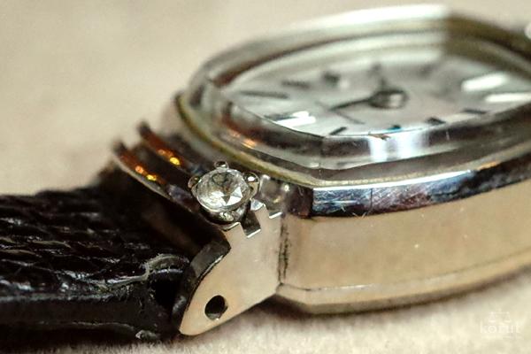 ダイヤモンドの石枠の爪折れ修理