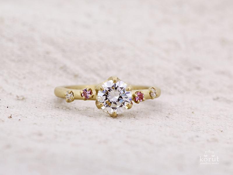 リフォーム後のエンゲージリング(婚約指輪)