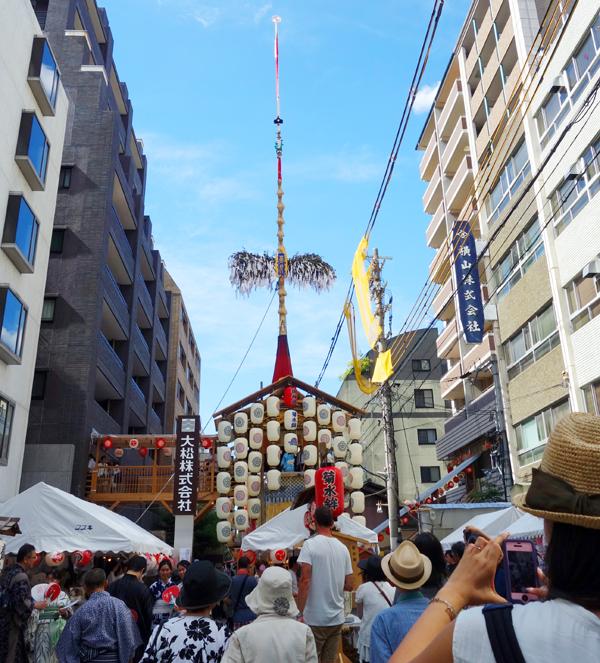 2015年祇園祭宵々山・菊水鉾1