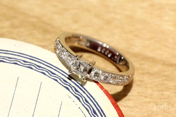リフォーム後のリング(指輪)
