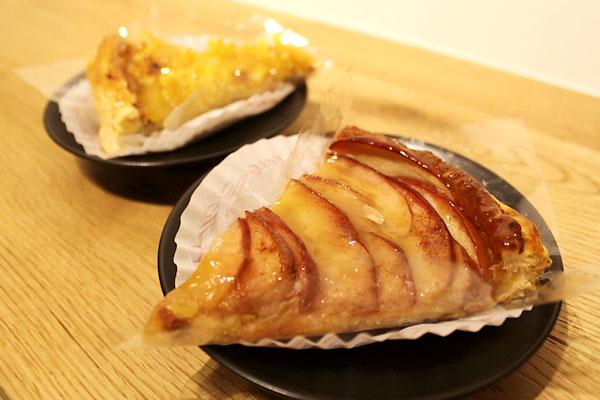 シェラメール、りんごとマロンのパイ