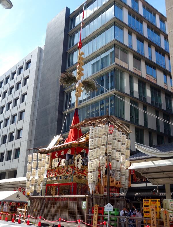 2015年祇園祭宵々山・長刀鉾