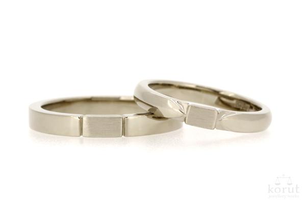 フルオーダーマリッジリング(結婚指輪)の完成写真1