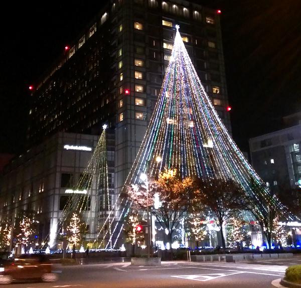 2014年ホテルオークラ京都のクリスマスイルミネーション