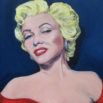 Marilyn _ Öl auf Leinwand | 50x50cm, 2005