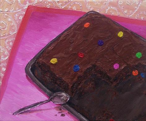 Kuchen _ Öl auf Leinwand | 30x40cm, 2006