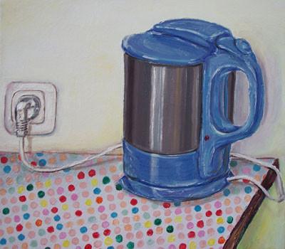 Wasserkocher _ Öl auf Leinwand | 40x45cm, 2006