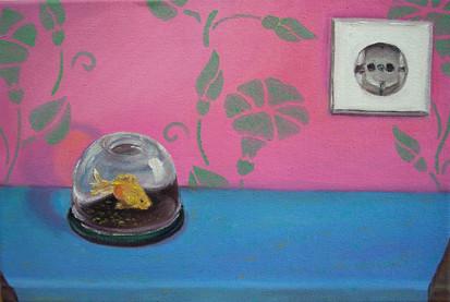 Stilleben mit Beziehung _ Öl auf Leinwand | 30x45cm, 2007