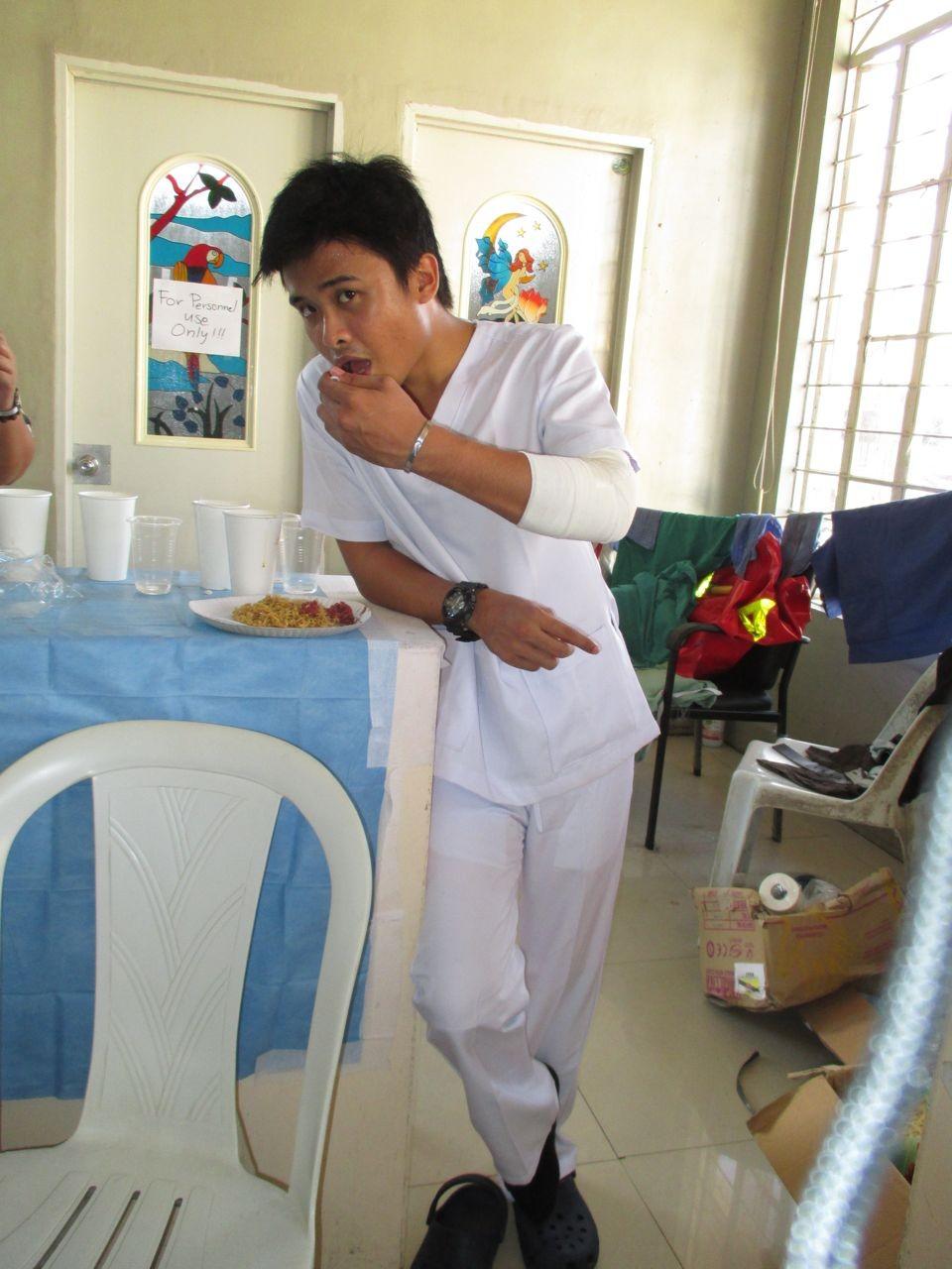 Marc, philippinischer Krankenpfleger