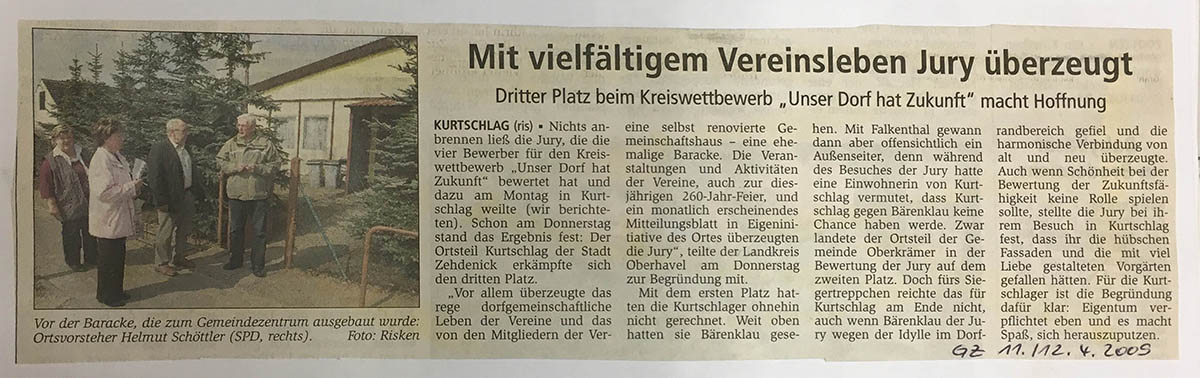 11./12.4.2009 Gransee-Zeitung