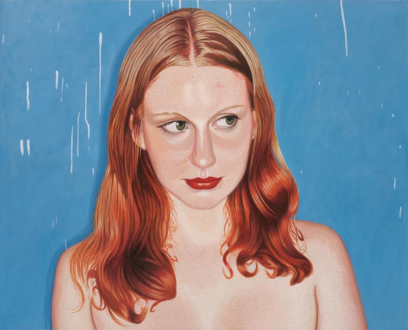 Auf blauen Grund | 2012 | 80 x 100 cm | Acryl auf Baumwolle (verkauft)