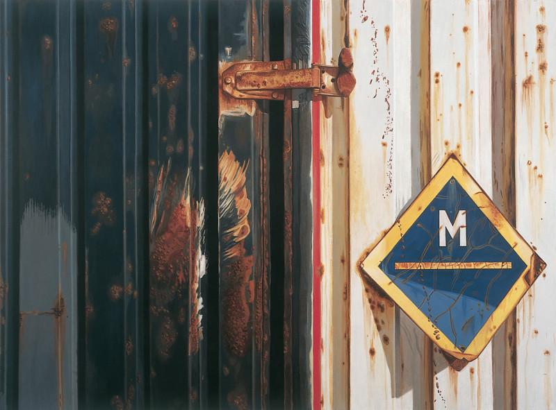 M | 2005 | 115 x 155 cm | Acryl auf Baumwolle