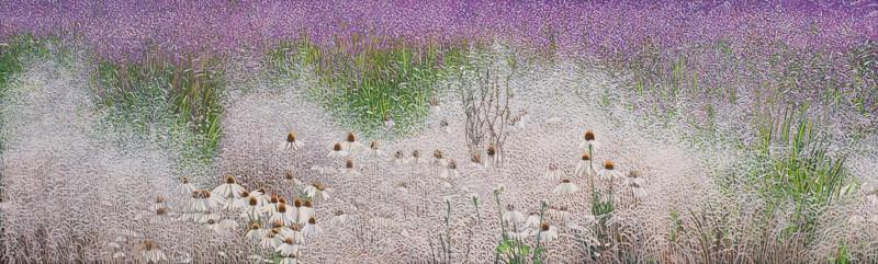 Garten Eden 4 | 2013 | 60 x 200 cm | Acryl auf Baumwolle