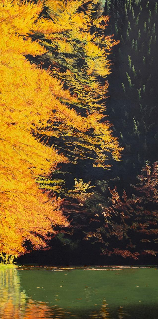 Kraft | 2018 | 180 x 90 cm | Acryl auf Leinwand